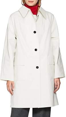 KASSL Women's Laminated Cotton-Blend Trench Coat