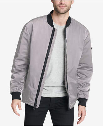 DKNY Men's Utility Bomber Jacket