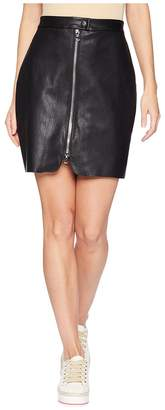 Bishop + Young Exposed Zip Mini Skirt Women's Skirt