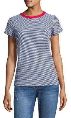 Womens Katie Metallic Striped T-Shirt Rag & Bone Buy Cheap Exclusive Cheapest Price Sale Online Collections Cheap Online Free Shipping Many Kinds Of 2VScb