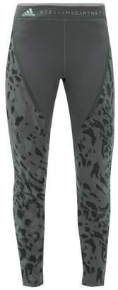 adidas by Stella McCartney Run Tight High Rise Leggings - Womens - Black