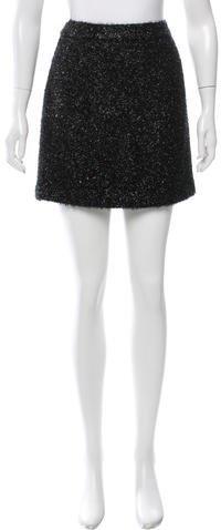 Kate SpadeKate Spade New York Tinsel Mini Skirt