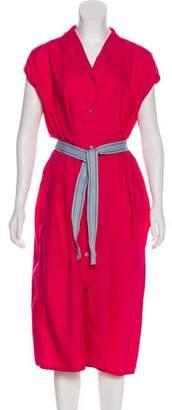 Sofie D'hoore Short Sleeve Midi Dress w/ Tags