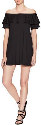 Susana Monaco Daga Off-The-Shoulder Dress