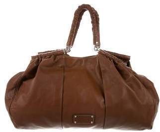 Dolce & Gabbana Miss Lexington Leather Hobo