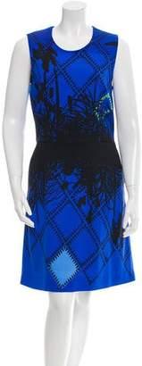 Preen by Thornton Bregazzi Preen Printed A-Line Dress