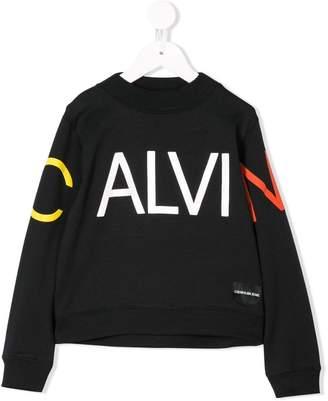 Calvin Klein Kids logo sweatshirt