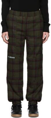 Han Kjobenhavn Green Tweed Check Lounge Pants