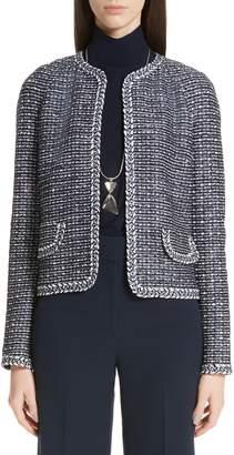 St. John Raglan Sleeve Camille Knit Jacket