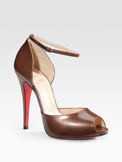 Christian Louboutin Claudia Ankle-Strap Sandals