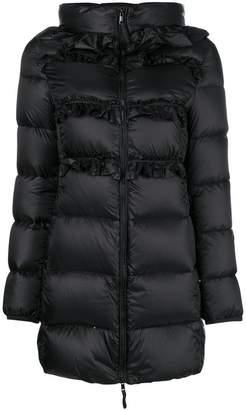 Twin-Set hooded padded jacket
