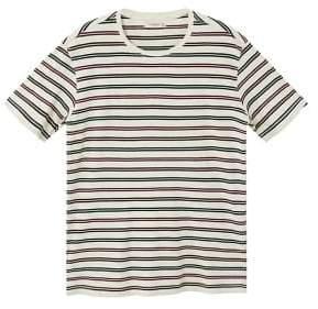 Mango Man MANGO MAN Striped cotton t-shirt