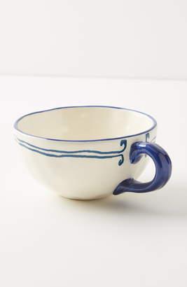 Anthropologie Sardina Set of 4 Mugs