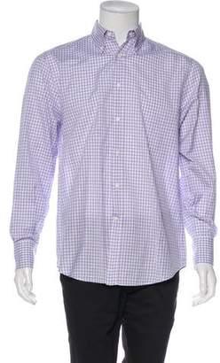 Brunello Cucinelli Basic Fit Button-Up Shirt