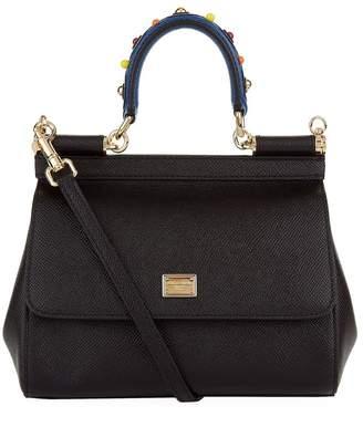 Dolce & Gabbana Small Sicily Top Handle Bag