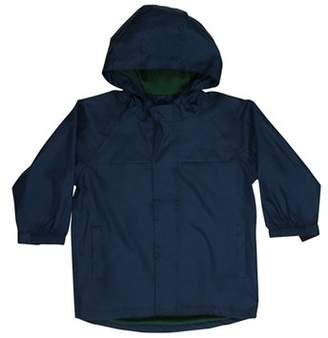 Western Chief Boys' Solid Nylon Rain Slicker Coat