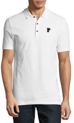 Rosso Cotton Polo $245 thestylecure.com