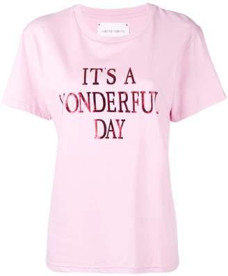 Alberta Ferretti It's a Wonderful Day T-shirt
