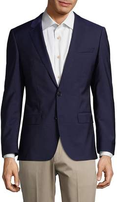 HUGO BOSS Men's Notch Lapels Wool Jacket