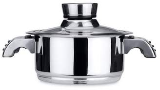 Berghoff Orion 18/10 Stainless Steel Invico Vitrum 8'' Covered Dutch Oven 4qt