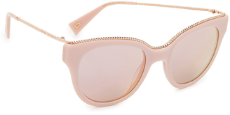 Marc Jacobs Chain Cat Eye Sunglasses $210 thestylecure.com