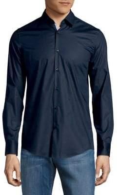 HUGO BOSS Koey Cotton Button-Down Shirt