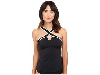 Nautica Soho Solid Tankini NA40147 Women's Swimwear