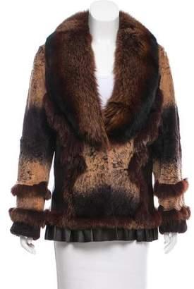Blue Duck Mixed Fur Jacket