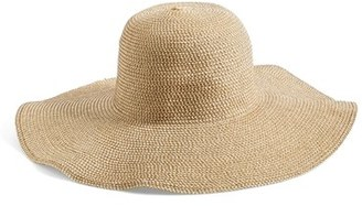Junior Women's Bp. Floppy Straw Look Hat - Beige $22 thestylecure.com