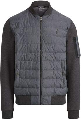 Ralph Lauren Down-Panel Bomber Jacket