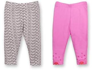 Lamaze Organic Leggings, 2pk (Baby Girls)