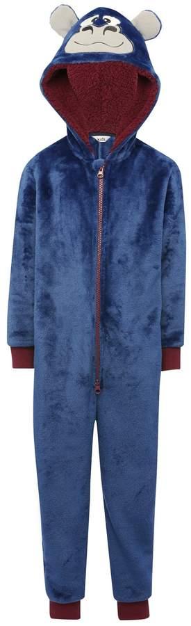 Gorilla fleece onesie