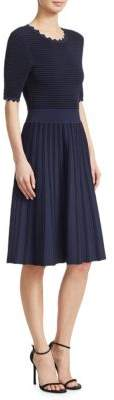Lela Rose Full Skirt A-Line Dress
