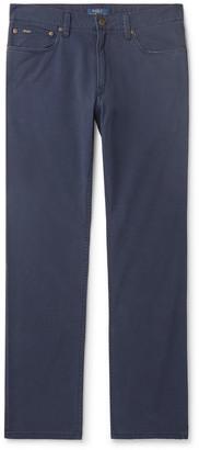 Polo Ralph Lauren Slim-Fit Stretch Cotton-Twill Chinos - Men - Blue