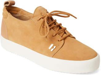 Giuseppe Zanotti Tan Suede Low-Top Sneakers