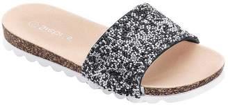 Creation L Rhinestone Embellished Pool Shoes