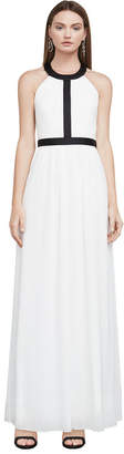 BCBGMAXAZRIA Tacarra Colorblocked Gown