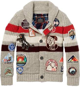 Scotch & Soda Badge Artwork Cardigan