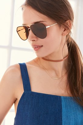 Urban Outfitters Geo Aviator Sunglasses $16 thestylecure.com