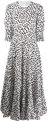 Rixo Agyness polka dot dress
