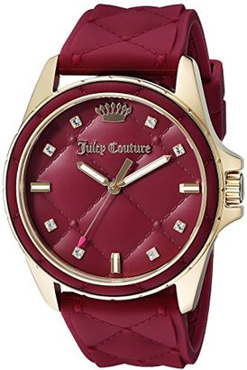 Juicy Couture Women's 1901315 Malibu Red Watch $185.18 thestylecure.com