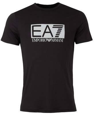 Ea7 Train Visibility Centre Logo T-shirt