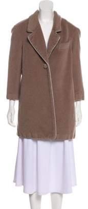 3.1 Phillip Lim Satin-Trimmed Virgin Wool Coat