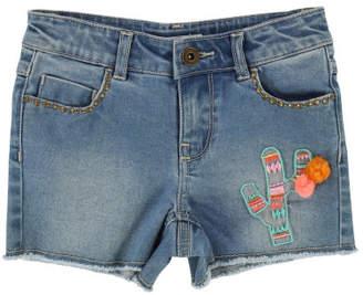 Billieblush Sale - Cactus Denim Shorts