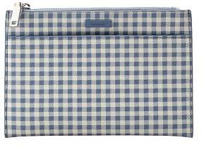 MANGO Gingham check cosmetic bag