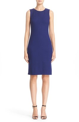 Women's St. John Collection Trellis Knit Sheath Dress $895 thestylecure.com