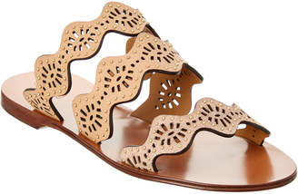 Chloé Lauren Studded Leather Sandal