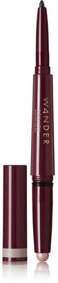 Fly London Wander Beauty Eyes On The Dual Cream Shadow And Eyeliner - Concrete Jungle/ Black Jet