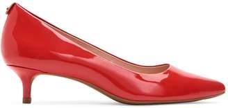 Taryn Rose Naomi Kitten Heel Patent Leather Pumps