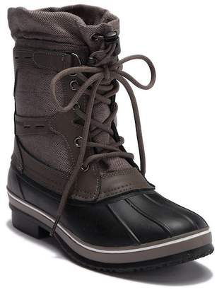 Northside Amalia Waterproof Leather Faux Fur Lined Cold Weather Boot